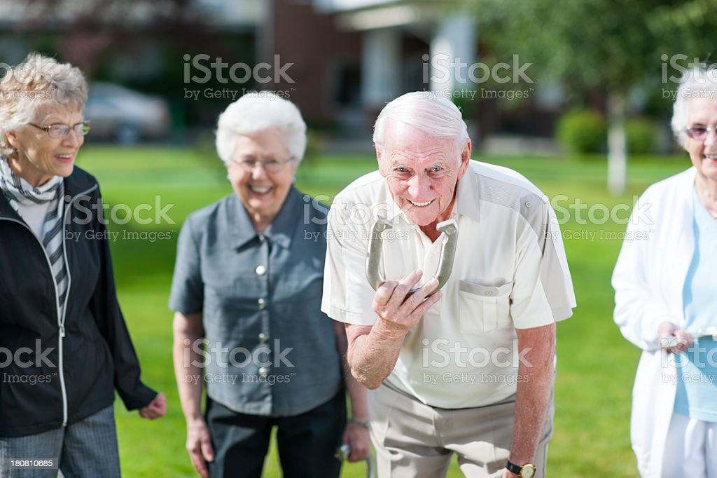 Seniors stock photo