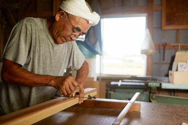 シニア世代 - 職人 ストックフォトと画像