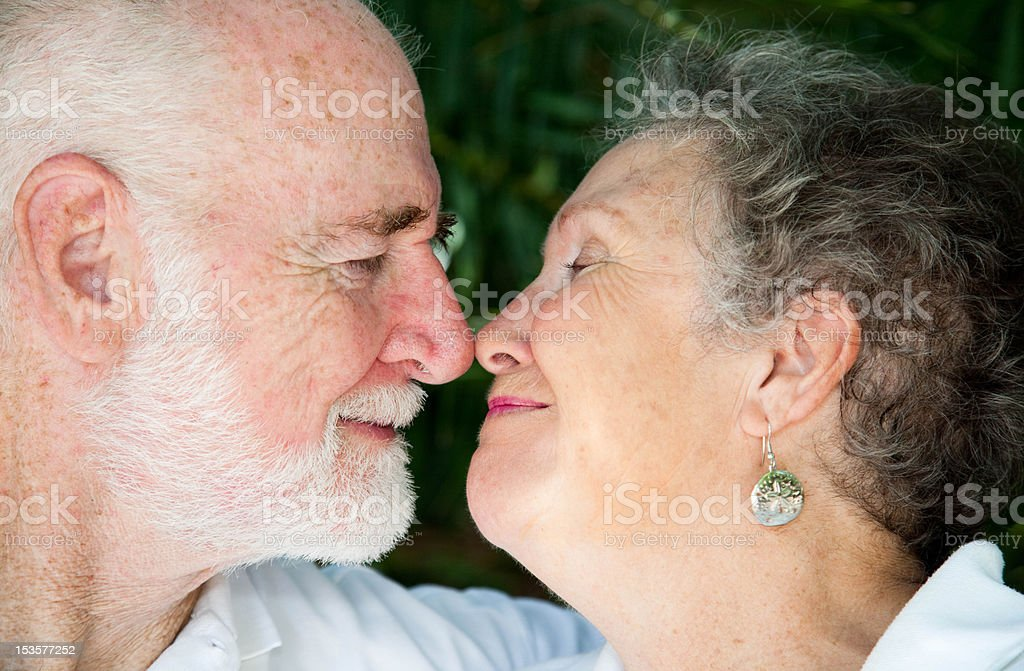 Seniors - Special Moment stock photo