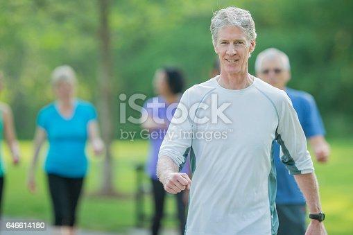 istock Seniors Walking Together 646614180