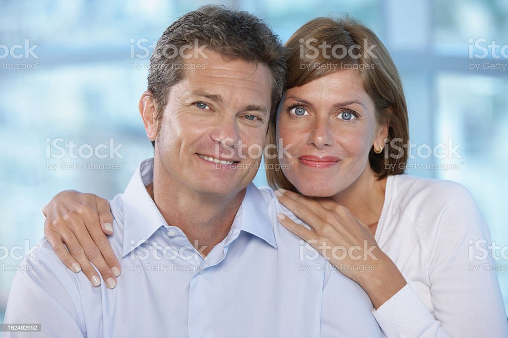 Seniors's couple royalty-free stock photo