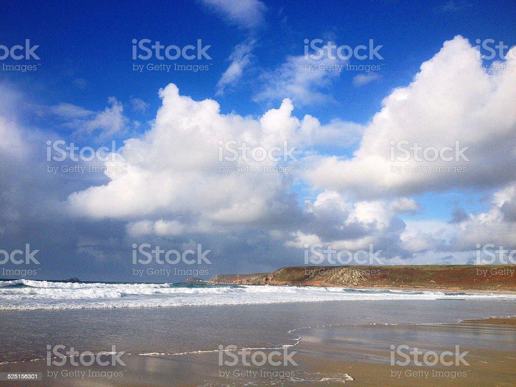Sennen Cove, Cornwall stock photo