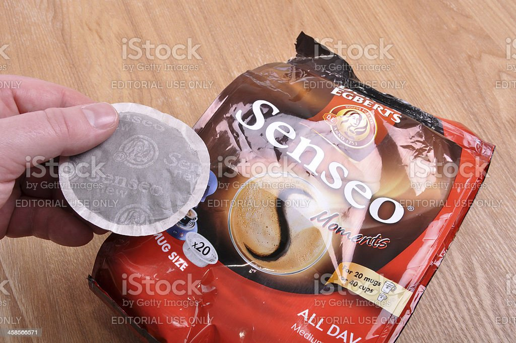 Senseo Coffee Pod and Packet