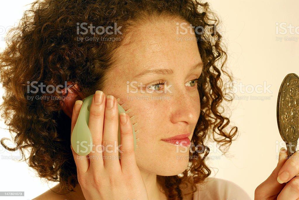 Sensitive  skin royalty-free stock photo