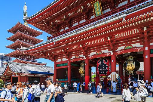 Sensoji buddhism temple