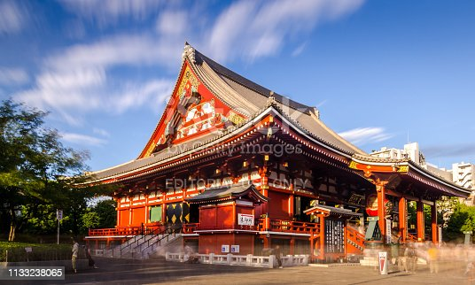 464620985 istock photo Sensoji Temple in Asakusa District - Tokyo 1133238065