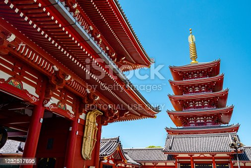 669538004 istock photo Sensoji Temple in Asakusa 1232517695