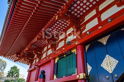 669538004 istock photo Sensoji Temple in Asakusa 1232522451