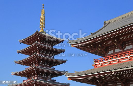 669538004 istock photo Sensoji Temple in Tokyo, Japan 934841492