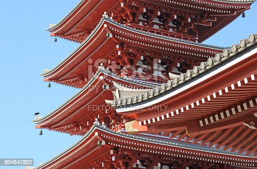 669538004 istock photo Sensoji Temple in Tokyo, Japan 934842802