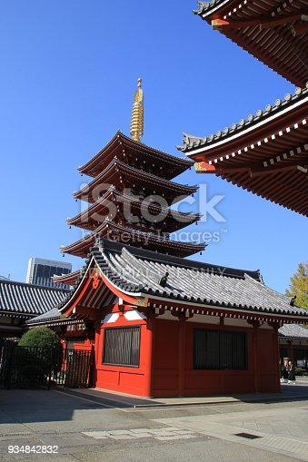 669538004 istock photo Sensoji Temple in Tokyo, Japan 934842832