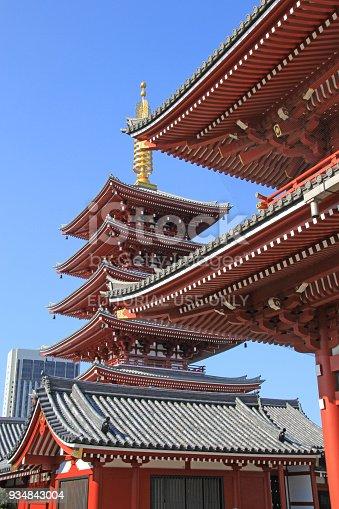 669538004 istock photo Sensoji Temple in Tokyo, Japan 934843004