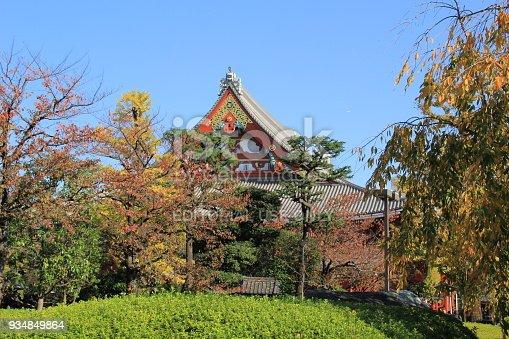 669538004 istock photo Sensoji Temple in Tokyo, Japan 934849864
