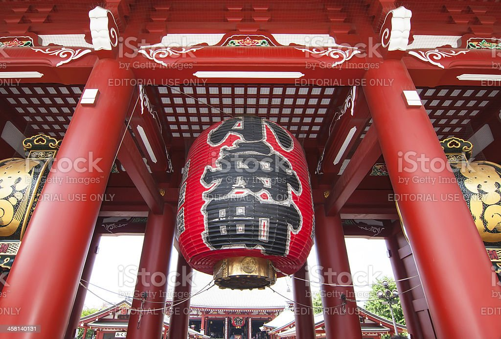 Senso-ji Temple,Tokyo stock photo