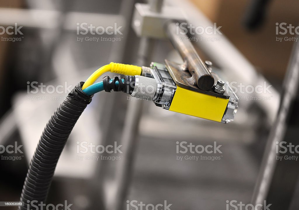 Sensor in Position royalty-free stock photo