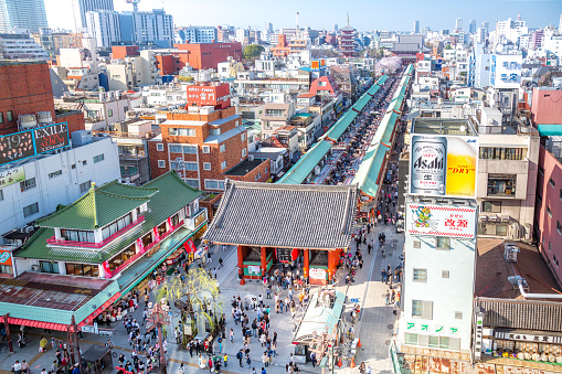 Sensouji Nakmise market