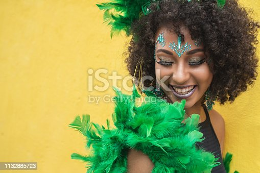 Women, African Ethnicity, One Woman Only, Afro, Human Hair