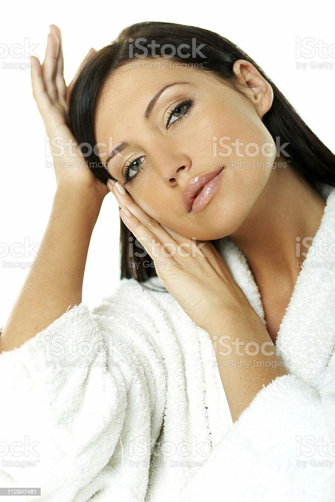 Sensual and Fresh royalty-free stock photo