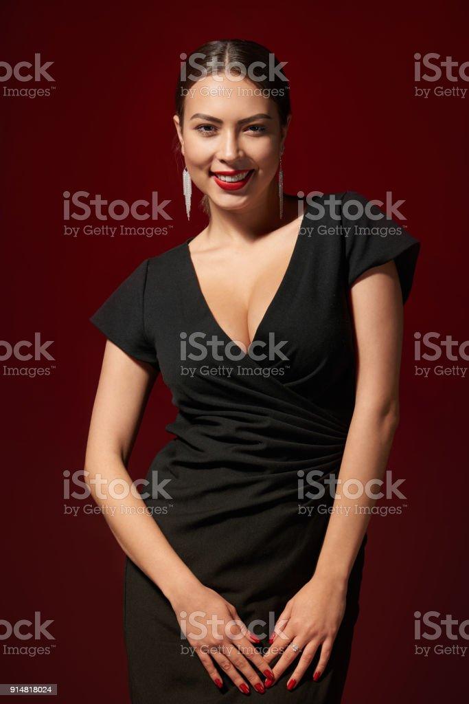 Sinnlich schöne Frau – Foto
