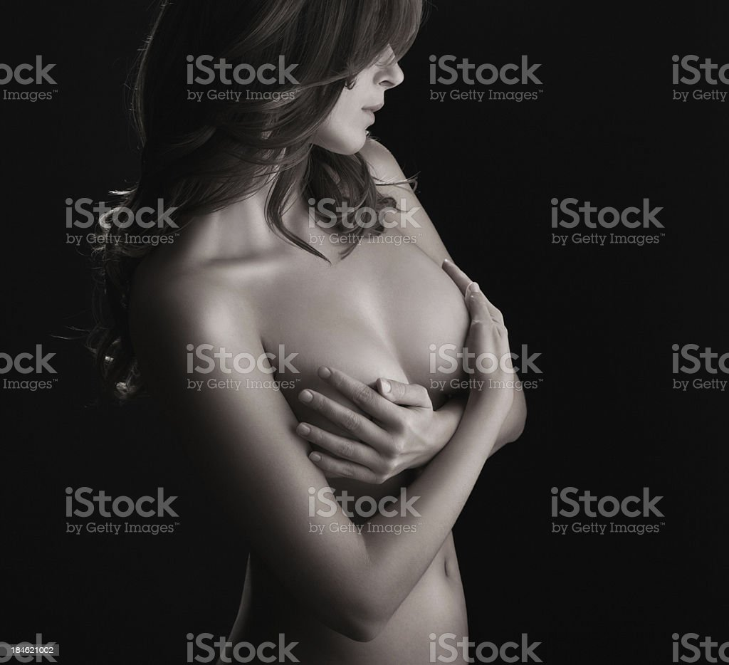 Sensual beauty. royalty-free stock photo