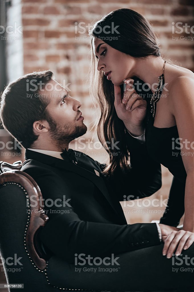 Sensual couple. stock photo