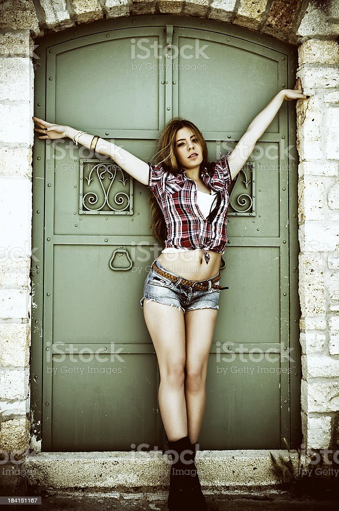Sensual Fashion Model stock photo