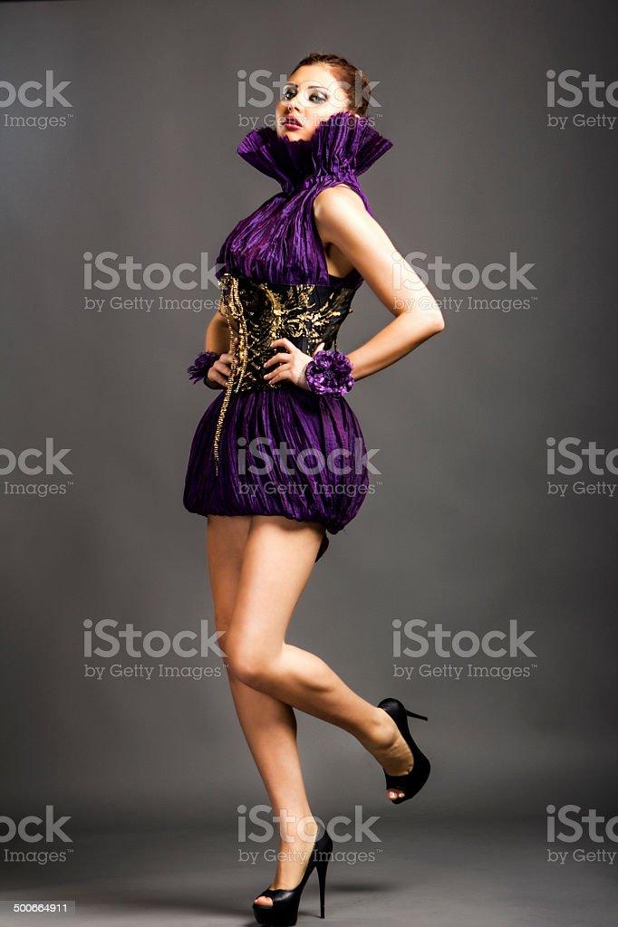 Sensual Fashion Model stock photo