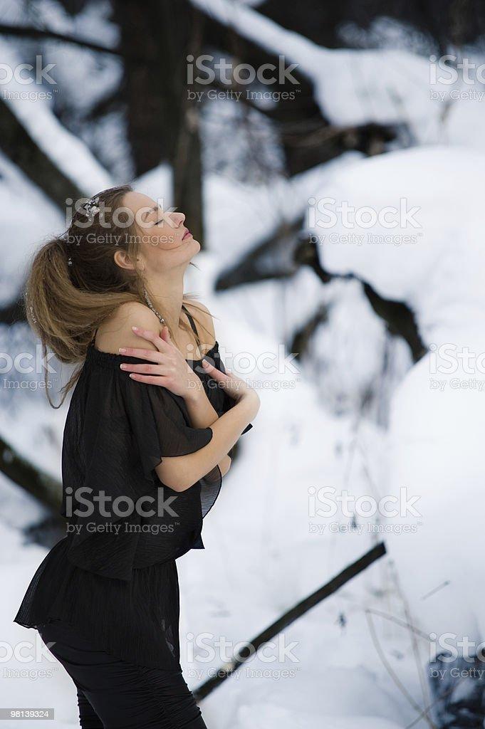 Sensual fashion model royalty-free stock photo