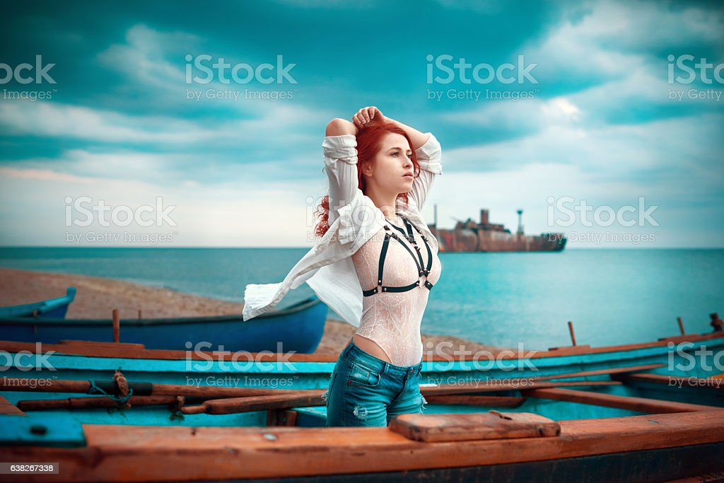 sensual feelings stock photo