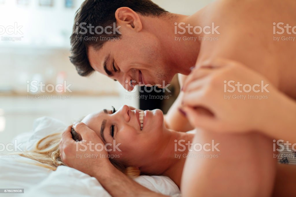 Sinnliche foreplay von Paar – Foto