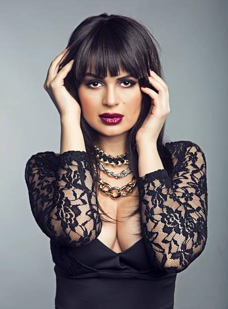 Sensual Latin Model stock photo