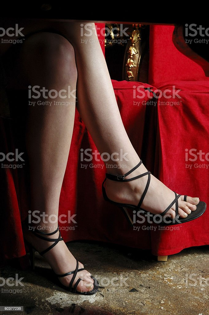Sensual legs royalty-free stock photo
