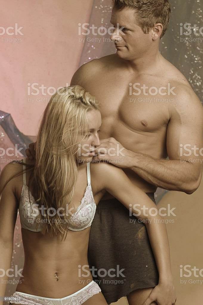 Sensual Massage Stock Image