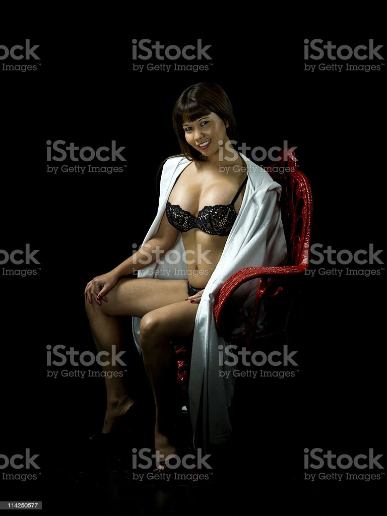 Sensual Temptation royalty-free stock photo