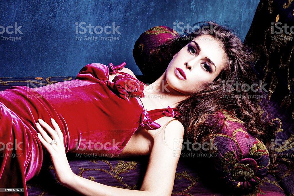 sensual woman royalty-free stock photo