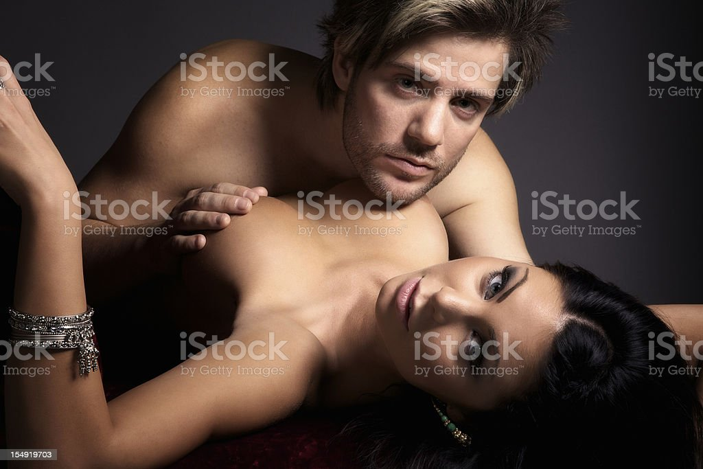 Sensual Young Couple stock photo