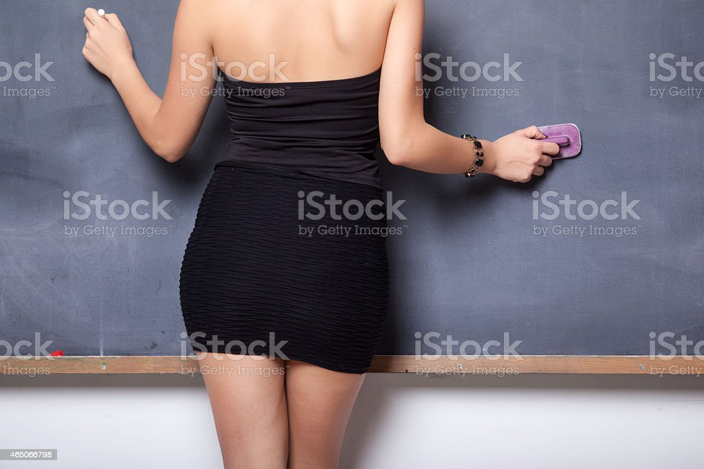 Sensuality Teacher stock photo