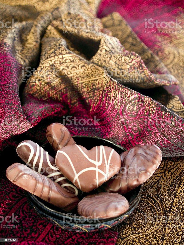 맛있는 초콜릿 royalty-free 스톡 사진