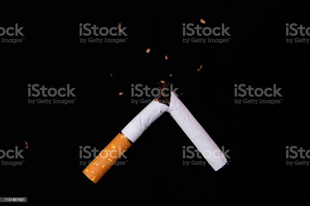 Frase Mundial Sin Tabaco El Concepto Deja De Fumar Y Un