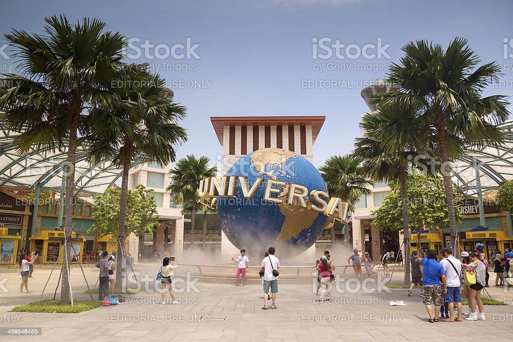 Sentosa - Universal Studios Singapore stock photo