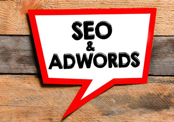 Seo and Adwords text concept – zdjęcie