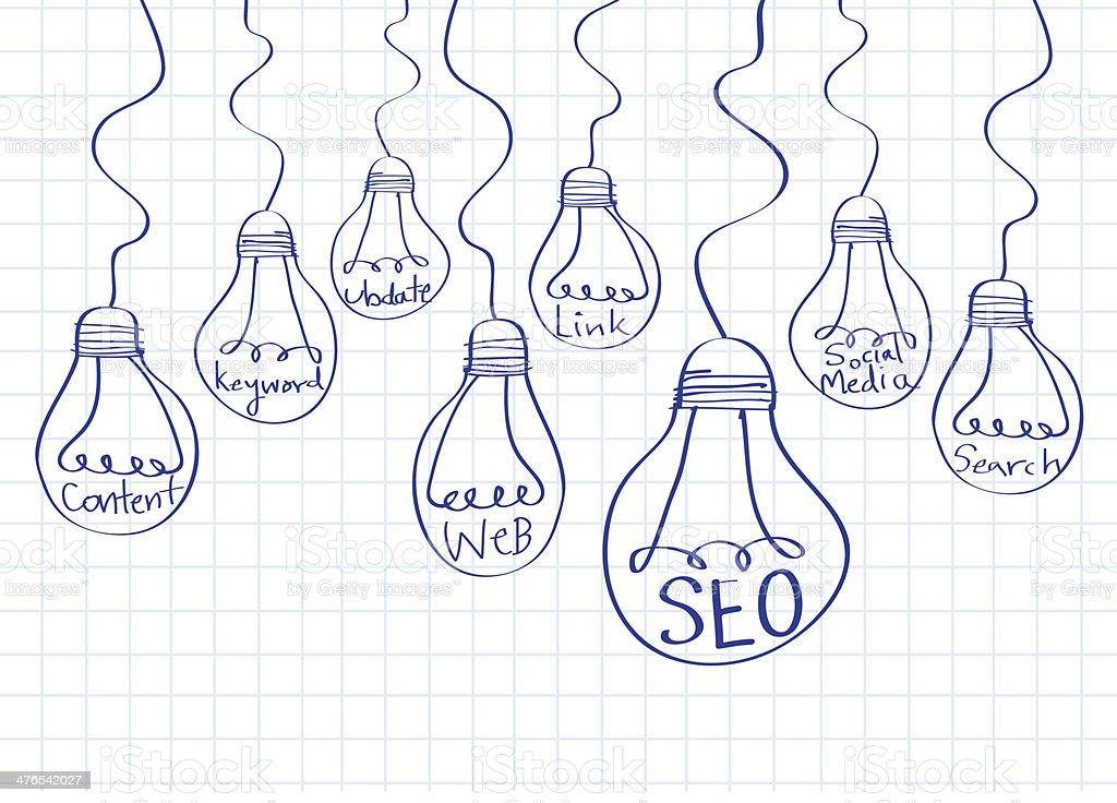 Seo Idea Search Engine Optimization stock photo