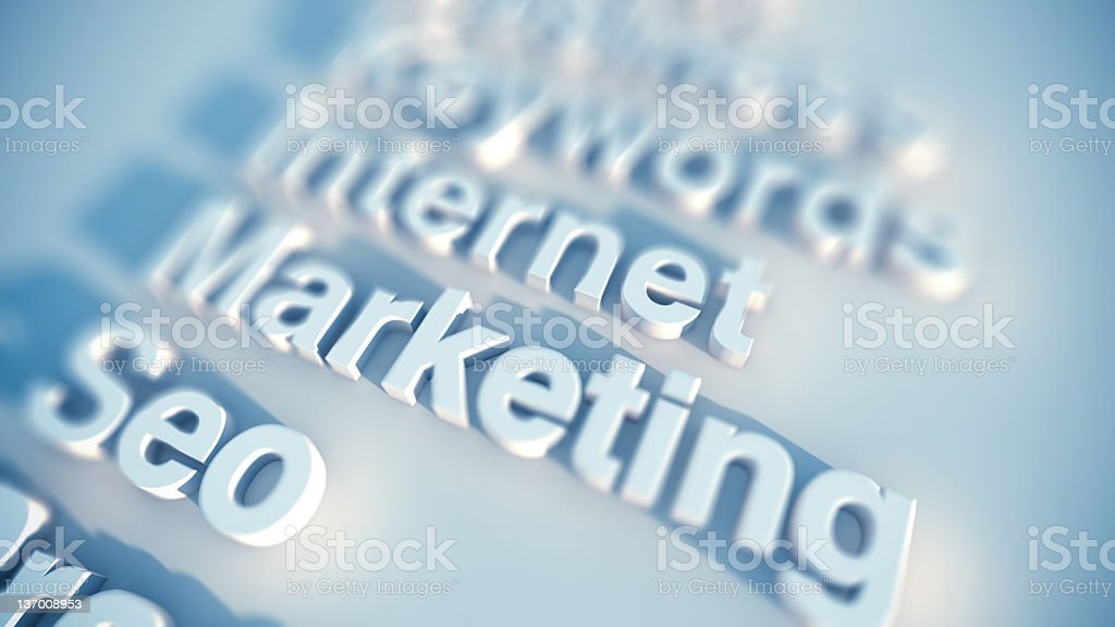 seo marketing royalty-free stock photo
