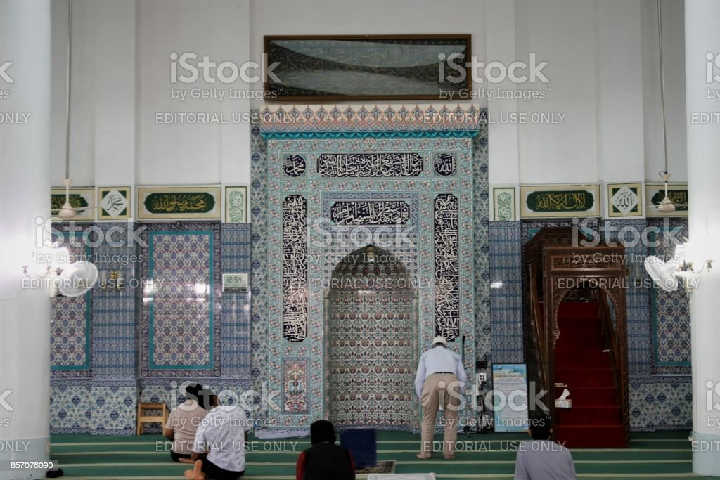 SEOUL, KOREA - September 7, 2017 : Seoul Central Mosque was the first Islamic mosque in Korea stock photo
