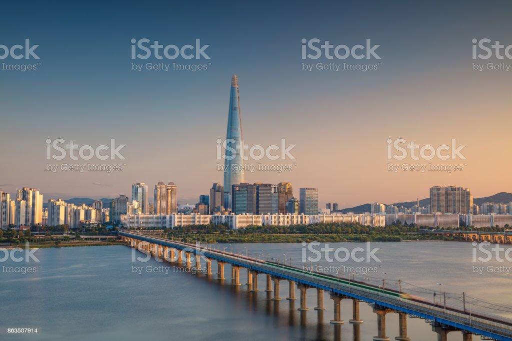 Seoul. stock photo