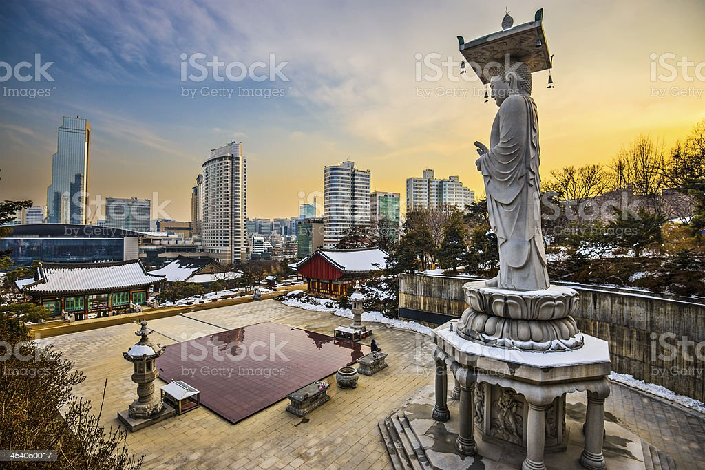 Seoul South Korea stock photo