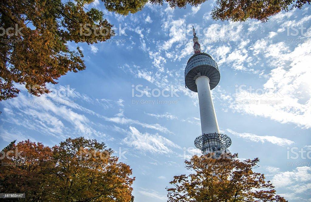N Seoul Tower royalty-free stock photo