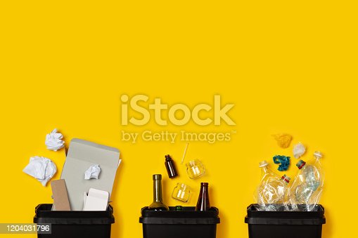 istock Separate collection of waste 1204031796