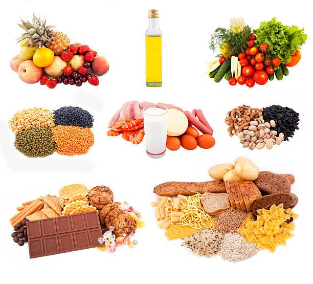 Cocina independiente para nutrition - foto de stock