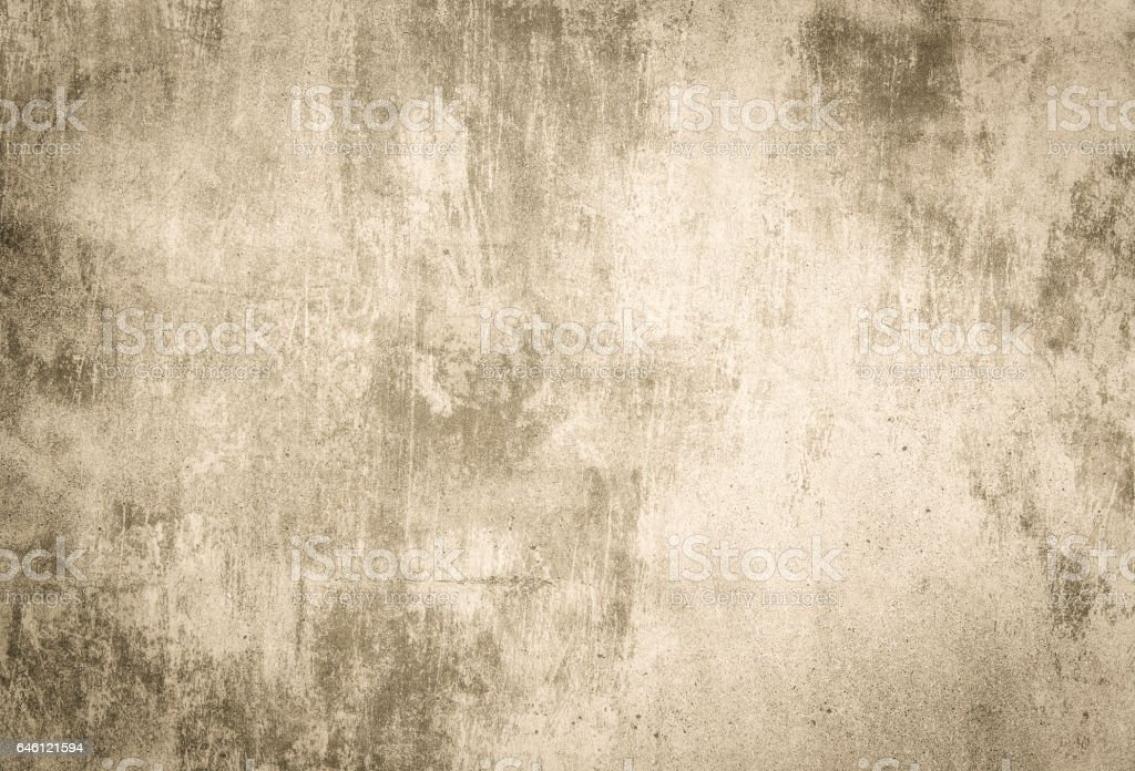 Sepia concrete wall - foto de stock